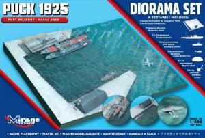 Model do sklejania DIORAMA PUCK 1925 Port Wojenny